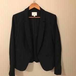 NWOT Loft 12 black suit jacket